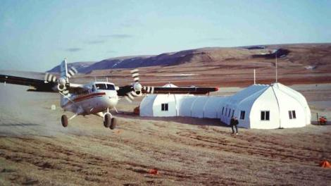 Arctic Watch Lodge in Nunavut photo via Sprung.com