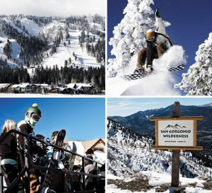 Photos: Big Bear Mountain Resorts (top); Jason Stone (bottom)