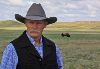 Wes Olson bison wildlife biologist
