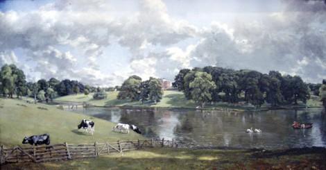 Wivenhoe Park Landscape, John Constable